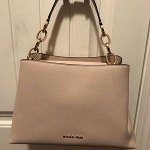 Light pink/ blush Michael Kors handbag